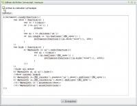 Edition de fichier javascript sans coloration syntaxique