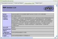 Paramètres serveur : PHP