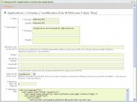 Flux RSS : propriétés